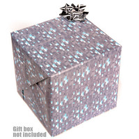 J!NX : Minecraft Diamond Wrapping Paper