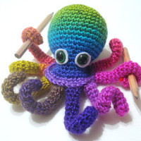 Octopus, Amigurumi Crocheted Octopus Pattern