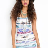 Azteca Dress - Nasty Gal
