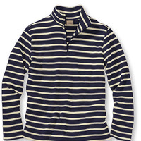 French Sailor's Shirts, Quarter-Zip Pullover: Tees and Knit Tops | Free Shipping at L.L.Bean
