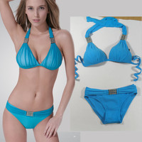Women Bikini Sets Halter Bathing Suit Swimwear