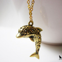 A Dolphin's Tale Necklace from GlamPuss