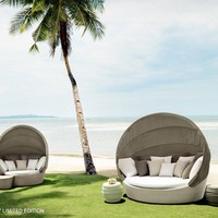 DEDON: ORBIT XXL - Loveseat XXL - chalk