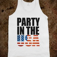 PARTY IN THE USA! - Underline Designs