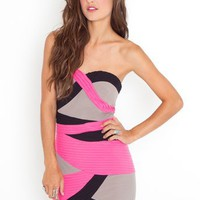 Miami Bound Dress - Pink in  Clothes at Nasty Gal