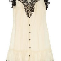 ALICE by Temperley|Vanita lace and silk-chiffon dress|NET-A-PORTER.COM