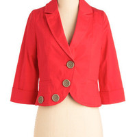 Around the Corner Blazer | Mod Retro Vintage Jackets | ModCloth.com