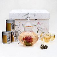 arabian glass tea set by the exotic teapot | notonthehighstreet.com