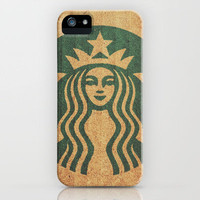 Starbucks Addict iPhone Case by Shaun Lowe | Society6