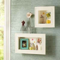 Picture Frame Shelves | PBteen