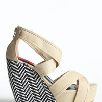 Mixed Meaning Wedges - $44.00 : ThreadSence.com, Your Spot For Indie Clothing & Indie Urban Culture
