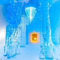 Welcome to the coolest hotel in the world! Brrr-eathtaking pictures capture the frosted splendor inside Canada's luxury Ice Hotel