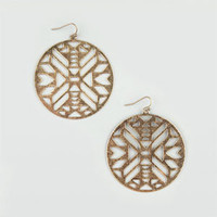 FULL TILT Ethnic Cut Out Earrings 205635621 | Earrings | Tillys.com