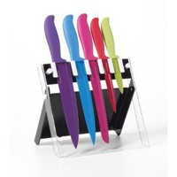 Amazon.com: Farberware 6-Piece Resin Knife Set: Kitchen & Dining