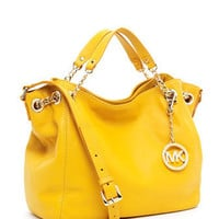 MICHAEL Michael Kors Jet Set Chain Medium Gather Shoulder Tote, Marigold - Michael Kors