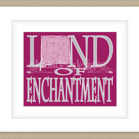 8x10 New Mexico Print, Land of Enchantment Typography Art Custom Color Map Art