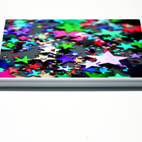Kindle Fire Case, Kindle Case, Kindle Fire Cover, Stars, Rainbow