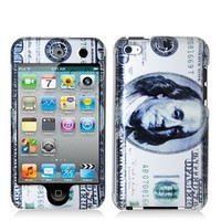 Electromaster Hundred Dollar Benjamin 2d Hard Snap-on Crystal Skin Case Cover Accessory for Ipod To