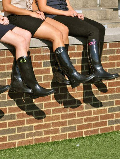 Sorority Rain Boots - Greek