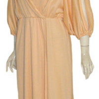 Vintage 70s Grecian Disco Goddess Dress Acclaim by Seymour Levy