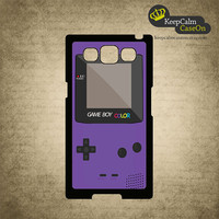 Samsung Galaxy S3 Case - Purple Gameboy Samsung Galaxy S3 Snap On Case