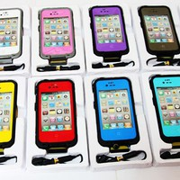 New LifeProof WaterProof Case For Apple iPhone 4S Cover Case Hard Skin