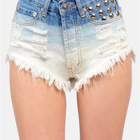 Dip N Dots Shorts - Blue
