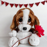 Puppy Love / Valentine's Day Gift / Applause 1987 Stuffed Animal