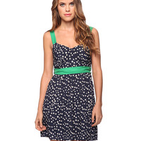 Contrast Polka Dot Dress | FOREVER21 - 2015036458