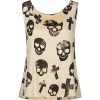 FULL TILT Cross Skull Womens Swing Tank 214429412 | Graphic Tees &amp; Tanks | Tillys.com