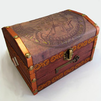 Knight Chest by DeweysNook on Etsy