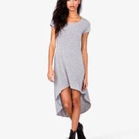 Heathered High-Low Dress