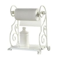 One Kings Lane - Fun Flourishes - Creative Co-op Metal Paper Towel Holder
