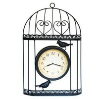 One Kings Lane - Ashton Sutton - Bird Cage Wall Clock