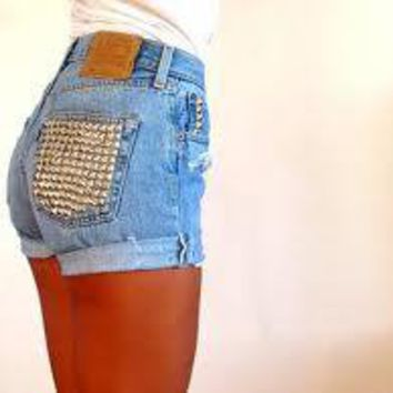 Studded Shorts  from Willow Justice