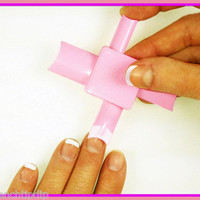 Fastest French Manicure in the World? French Tip Dip sampler USE WITH ANY POLISH