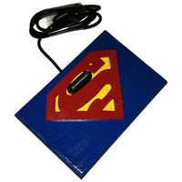 Superman iPhone Charger iPhone Dock by SherrysStock on Etsy
