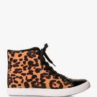Leopard Print High Tops | FOREVER 21 - 2021763016