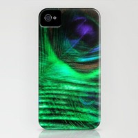 Peacock dreams iPhone Case by L'Accent Nou by Anastasia Egorova | Society6