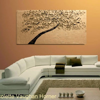 Oil Landscape painting Abstract Original Modern 48 by artmod