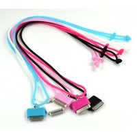 Amazon.com: Case Star ® 5pcs (Black, White, Pink, Hot Pink, Light Blue) Silicone Neck Strap Lanyard for iPhone 3G 3GS 4 4S iPod nano iPaod touch + Case Star Cellphone Bag: Cell Phones & Accessories
