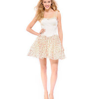 GARDEN OF EDEN FULL SKIRT DRESS - Betsey Johnson