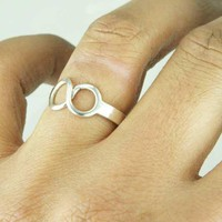Now Forever Infinity Symbol Ring Sterling Silver by ExCognito