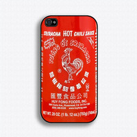 $16.99 Sriracha Hot Sauce iPhone case by iCaseSeraSera on Etsy