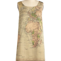 Cartography Degree Dress | Mod Retro Vintage Dresses | ModCloth.com