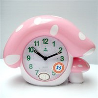 Wholesale Fudar Home Decor Beautiful Cartoon Mushroom Pattern Alarm Clocks - DinoDirect.com