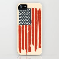 Red and Blue and White iPhone Case by Budi Satria Kwan | Society6