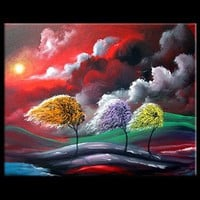 Hurricane - http://www.etsy.com/listing/67423926/cloud-painting-tree-painting-large