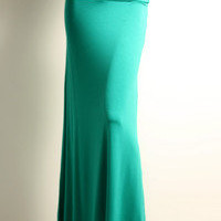 Women Long Sexy Elegant Maxi Skirts Banded Waist-Made In USA (More Colors)