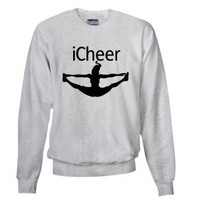 Amazon.com: iCheer Sweatshirt by CafePress: Clothing
